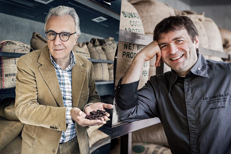 Alain Ducasse et Nicolas Berger