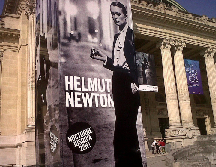 New Look sur Newton au Grand Palais