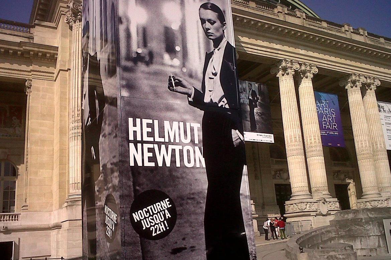 Helmut Newton au Grand Palais, Paris Expo