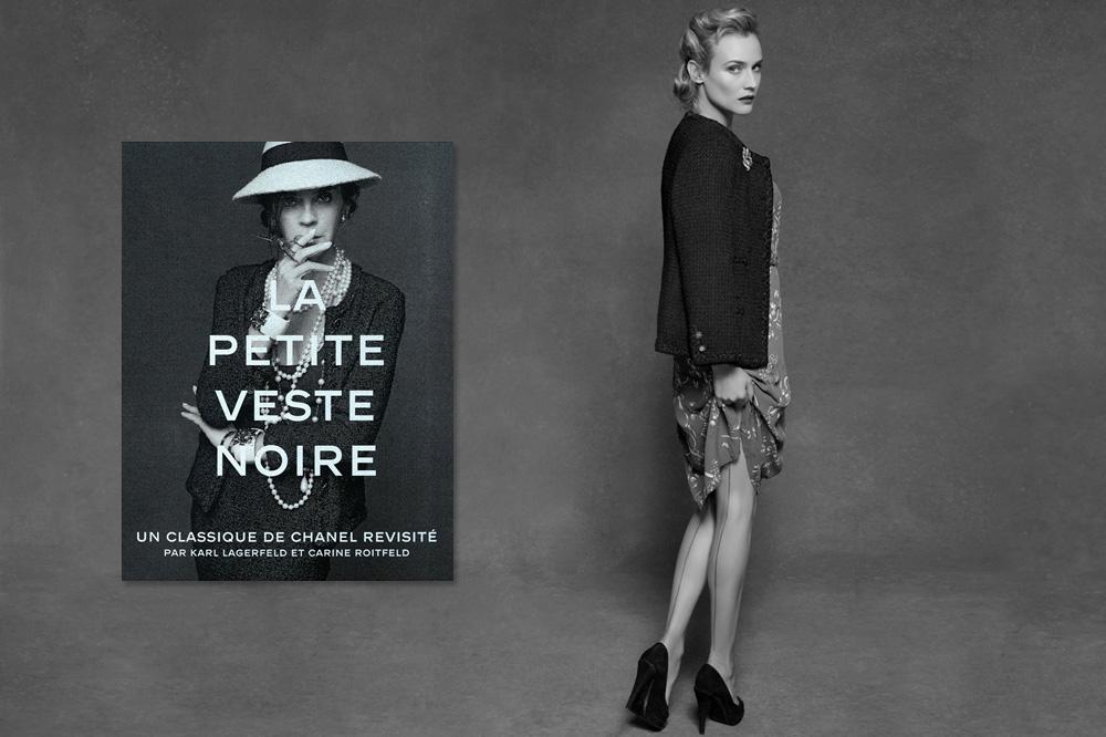 """""""La Petite Veste Noire : un classique Chanel revisité"""" par Karl Lagerfeld et Carine Roitfeld, éditions Steidl"""