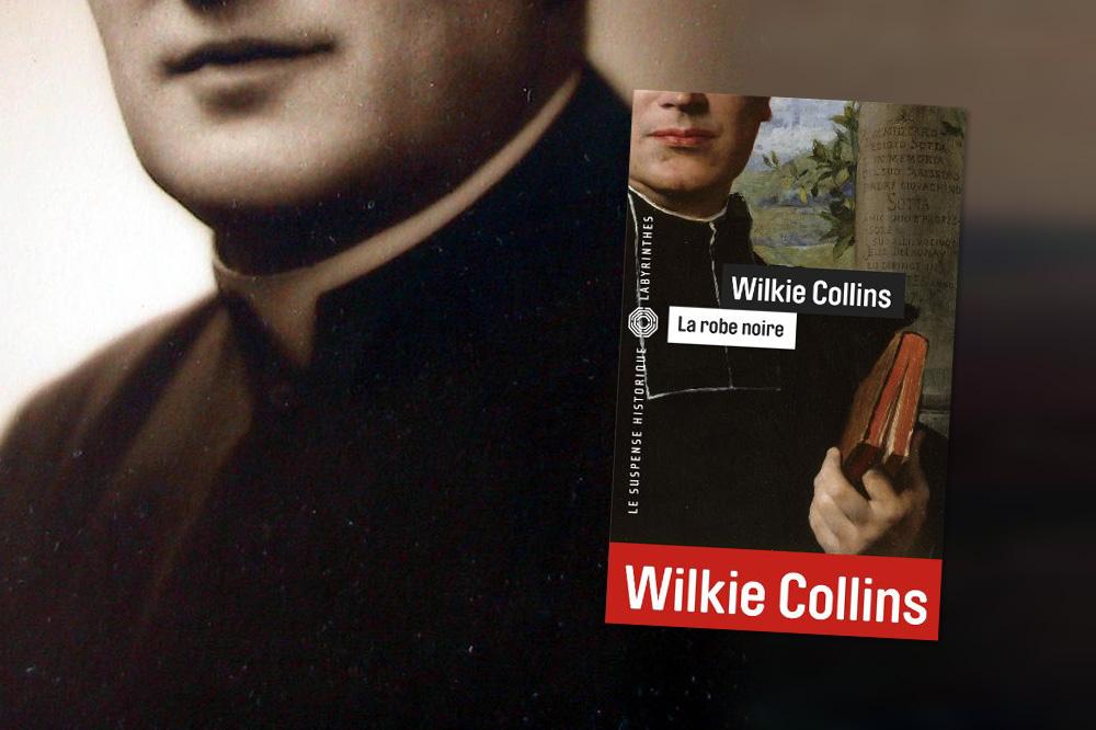 """""""La robe noire"""" de Wilkie Collins, Editions du Masque"""
