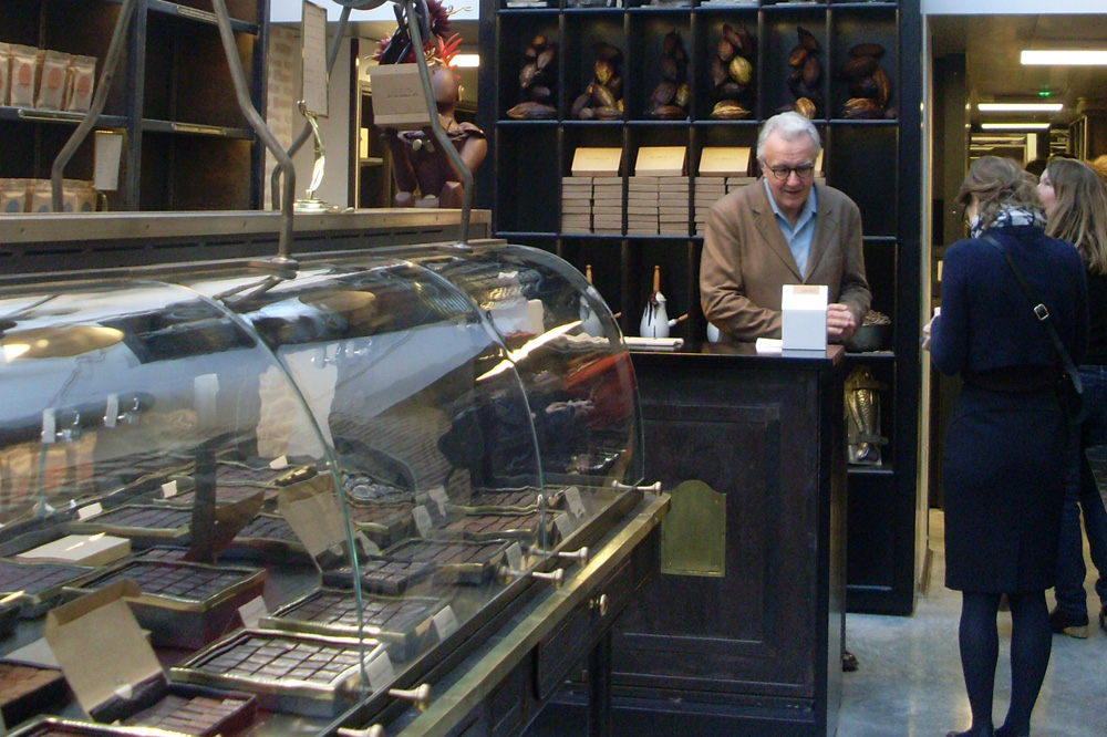 Manufacture de Chocolat : vue intérieure