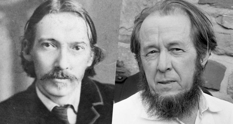 Stevenson, Robert Laffont / Soljénitsyne, Fayard