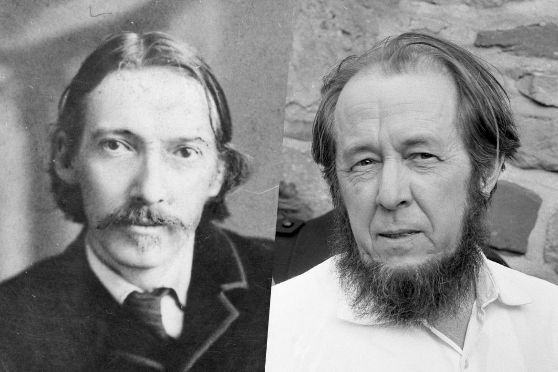 Robert Louis Stevenson et Alexandre Soljénitsyne