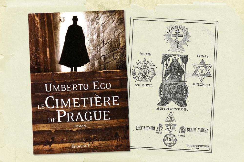 """Cimetiere de Prague"" d'Umberto Eco - Editions Grasset"