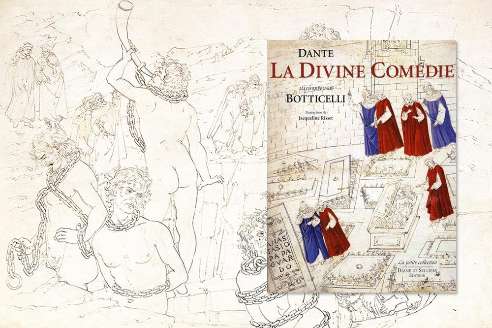 """""""La divine comedie"""" de Dante illustré par Botticelli - Diane de Selliers Editeur"""