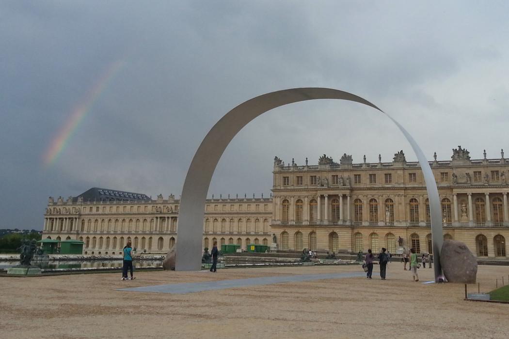 Lee Ufan Château de Versailles 2014