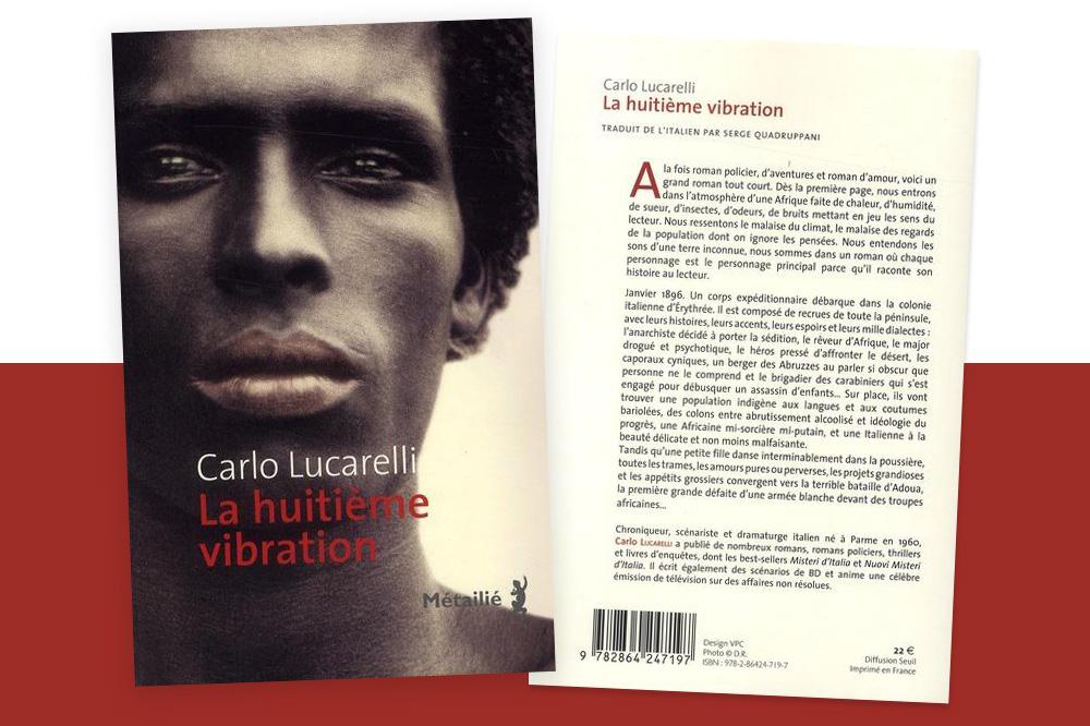 """""""La huitieme vibration"""" de Carlo Lucarelli - Editions Métailié"""