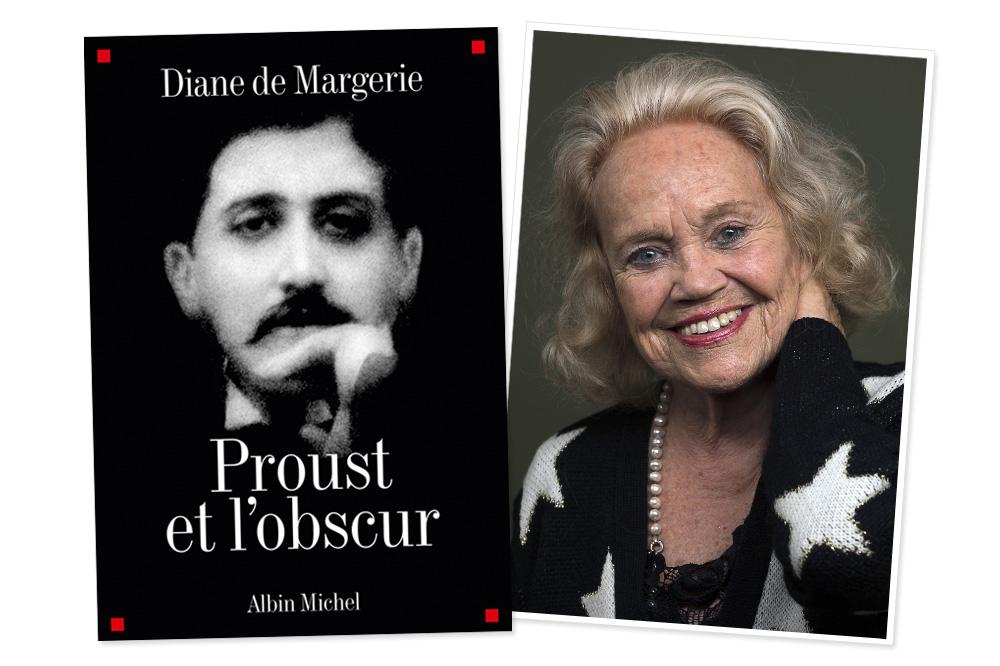 """""""Proust et l'obscur"""" de Diane de Margerie - Editions Albin Michel"""