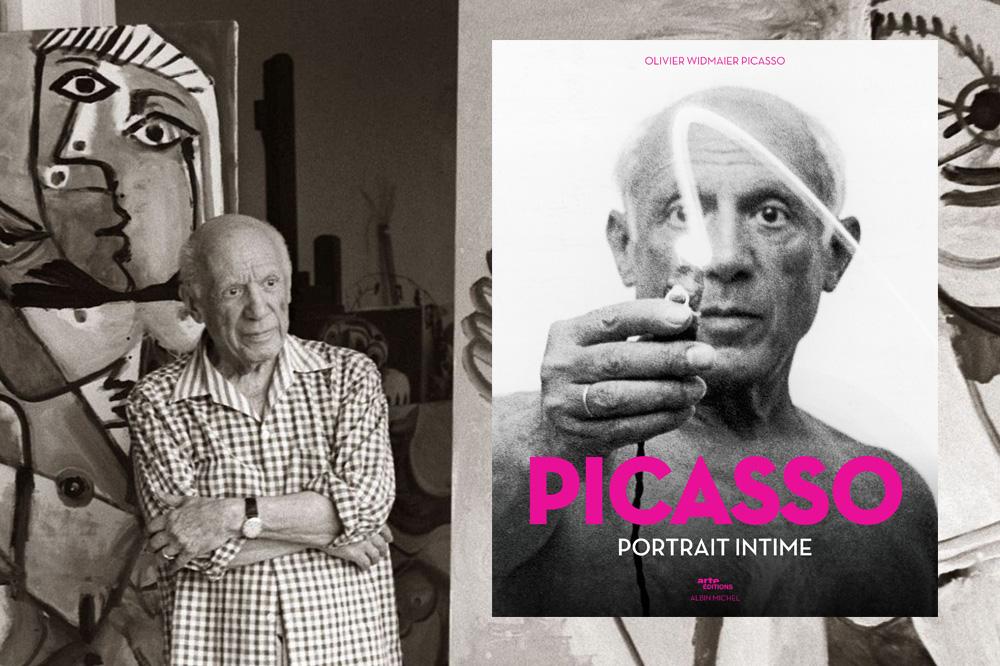 « Picasso, portrait intime », d'Olivier Widmaier Picasso, Coédition Arte éditions/Albin Michel