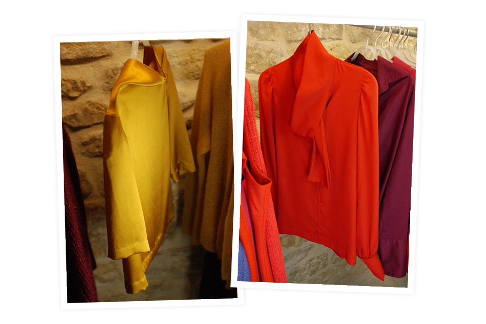 Anna Ruohonen – La Petite Maison de Couture, Vêtement de soie
