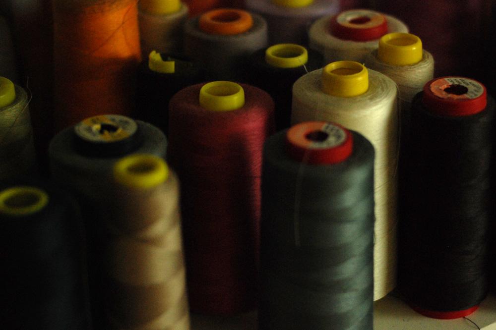 Anna Ruohonen – La Petite Maison de Couture, Bobines de fil