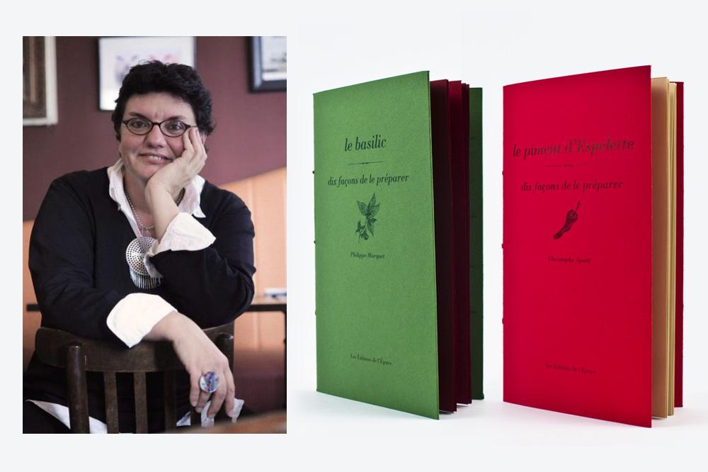"""Sabine Bucquet-Grenet ; carnets des Editions de l'Epure, """"Dix façons de préparer"""""""