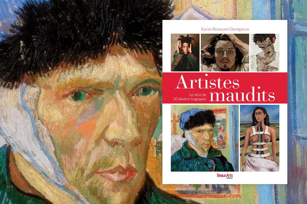« Artistes maudits. Le récit de 30 destins tragiques », de Karim Ressouni-Demigneux, Beaux Arts éditions - Autoportait de Vincent Van Gogh