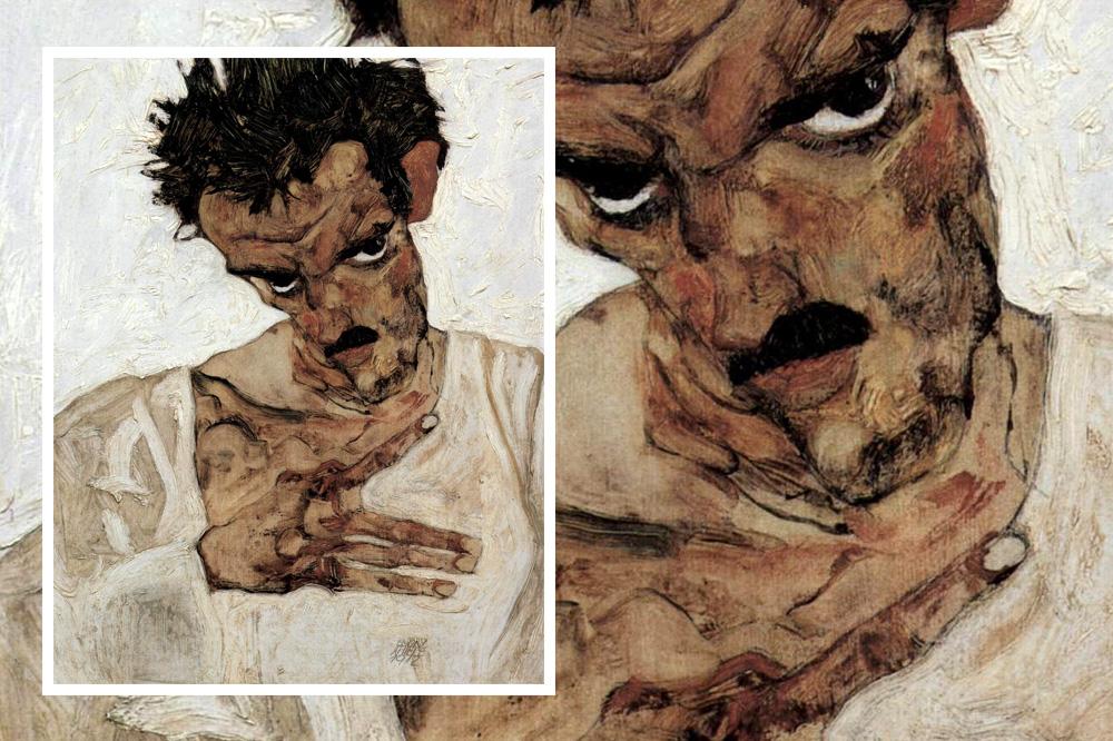 Autoportrait d'Egon Schiele