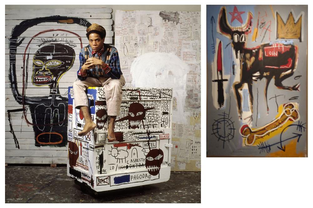 Jean Michel Basquiatparmis ses oeuvres