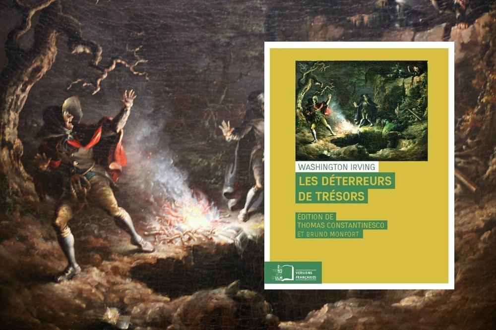 « Les déterreurs de trésors » (The money diggers), de Washington Irving, Editions Rue d'Ulm