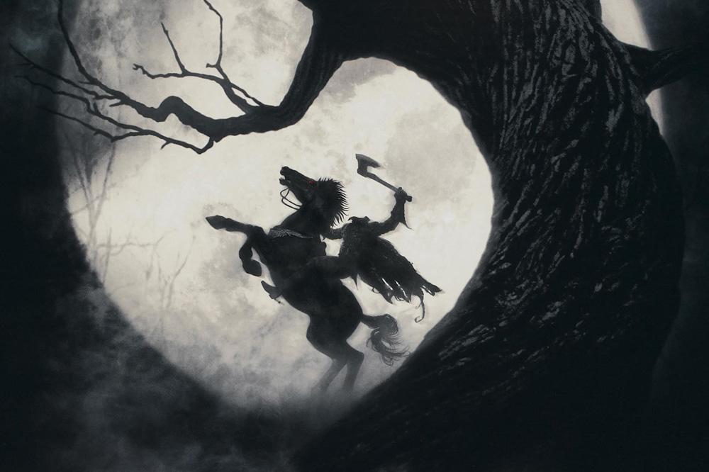 """""""Sleepy Hollow"""" de Tim Burton, librement adapté de la nouvelle Washington Irving, sorti en 1999"""