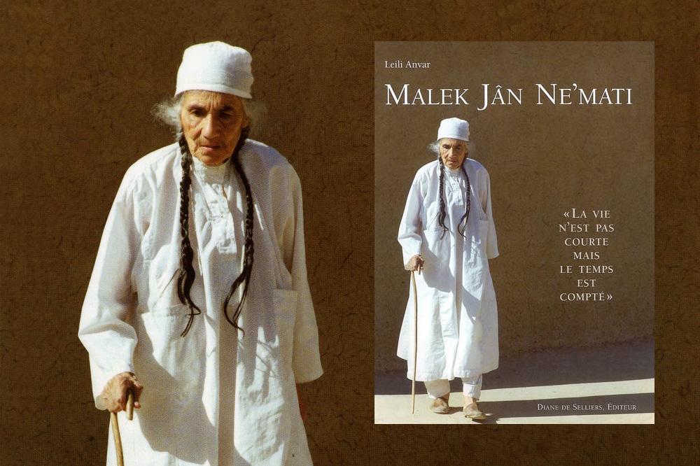 « Malek Jân Ne'mati. La vie n'est pas courte mais le temps est compté. », de Leili Anvar chez Diane de Selliers Editeur