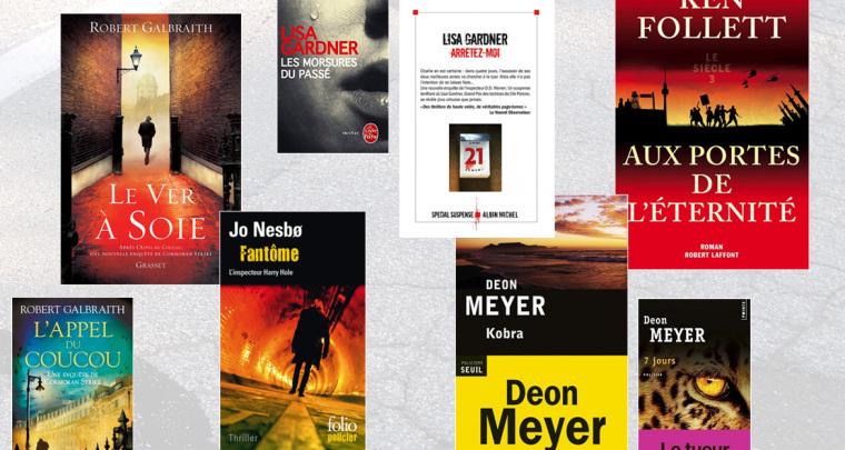 Métro Book : Octobre 2014 sous le signe du Thriller