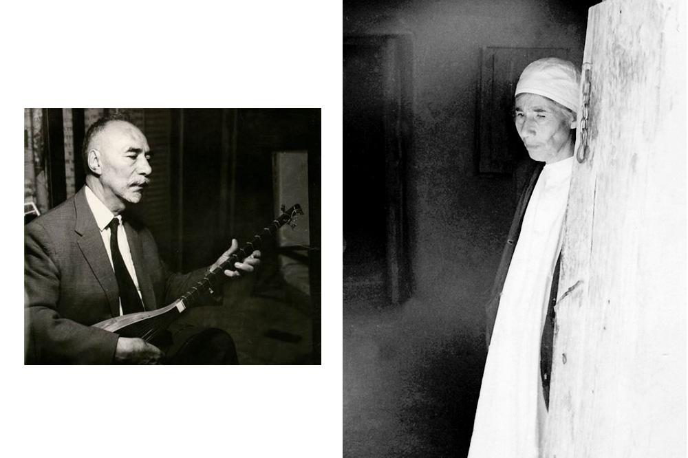 "Nour Ali ""Ostad"" Elahi, frère de Malek Jân et maître de musique ; Malek Jân Ne'mati"