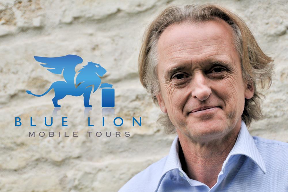 """Antonio Ca' Zorzi créateur de l'application """"Blue Lion Guides"""""""