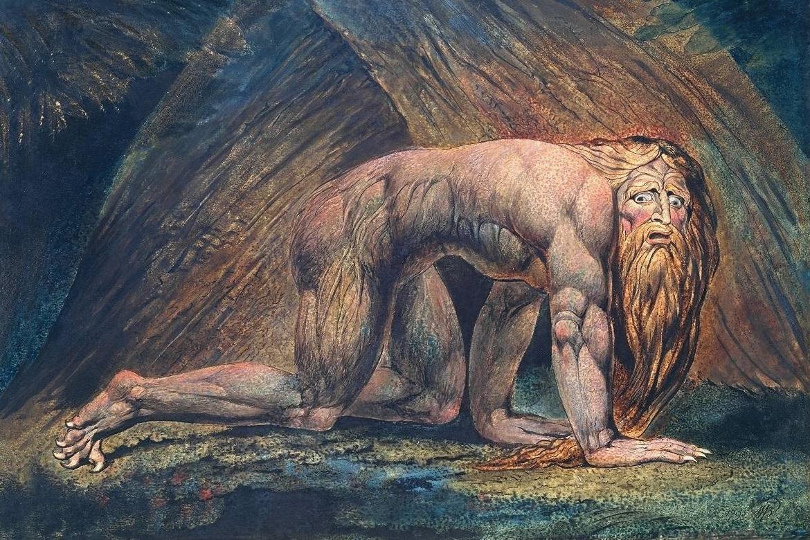 « Peintures et dessins d'écrivains, de Victor Hugo à Boris Vian », de Donald Friedman, Beaux Arts éditions - William Blake