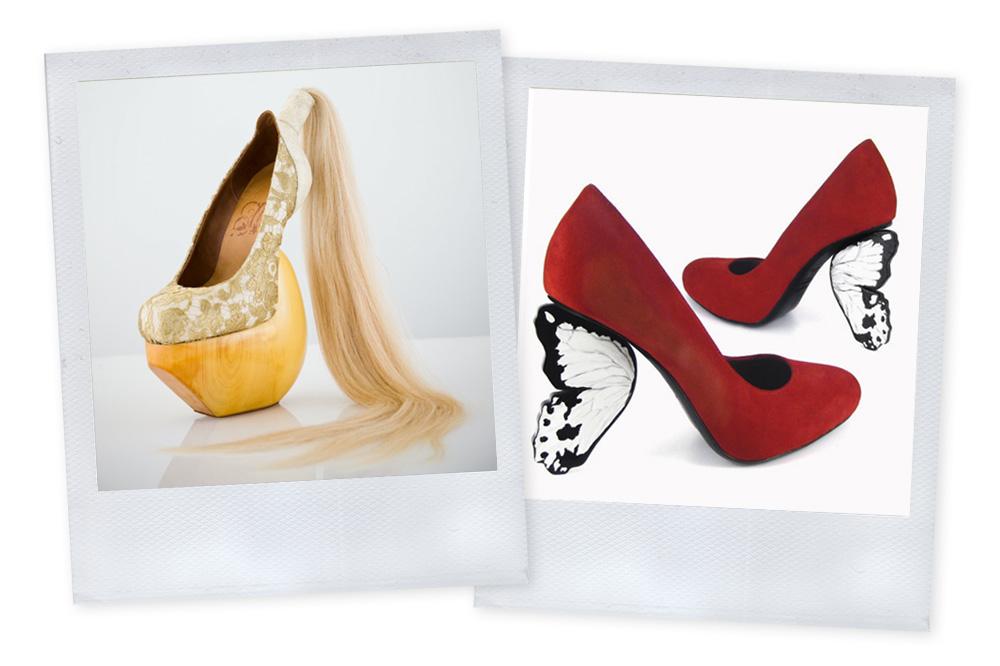 Masaya Kushino - Flutterby shoes par Alberto Guardini