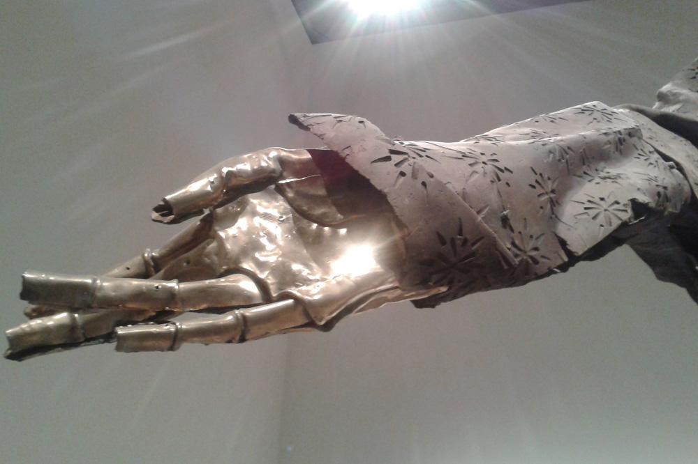 """""""Hephaestus"""" Matthew Monahan - Détail - Biennale de Venise"""