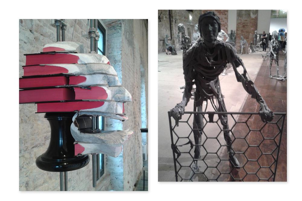 """""""Visage"""" Wim Botha - Powel Althamer - Biennale de Venise"""