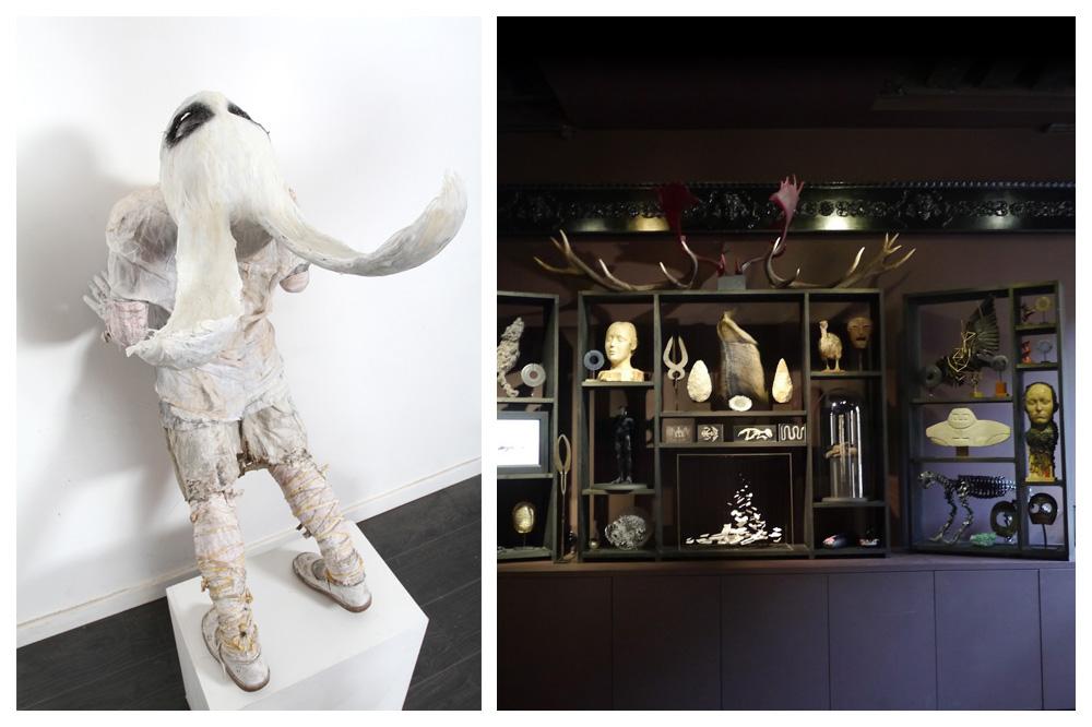 """Galerie Da end - """"Face au mur"""" de PaulToupet - Cabinet de curiosités"""