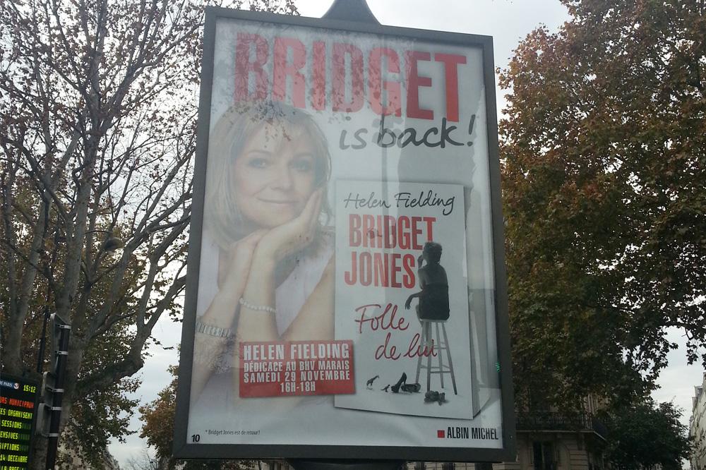 """""""Bridget Jones, folle de lui"""" d'Helen Fielding - Editions Albin Michel"""