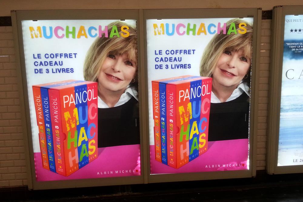 "Coffret ""Muchachas"" de Katherine Pancol - Editions Albin Michel"