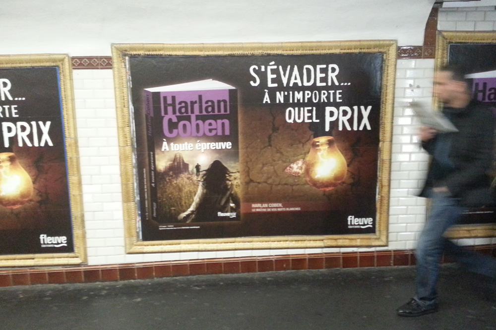 """""""A toute épreuve"""" de Harlan Coben - Editions Fleuve noir"""
