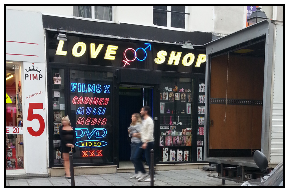 sexe enorme sex shop paris