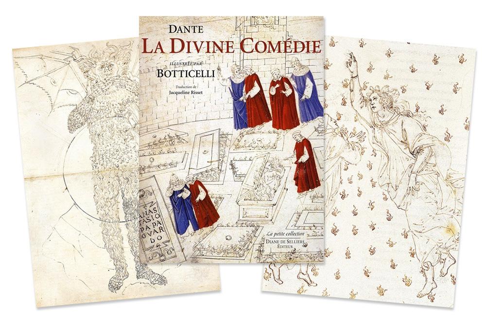 """""""La divine comédie"""" de Dantes illustrée par Botticelli"""