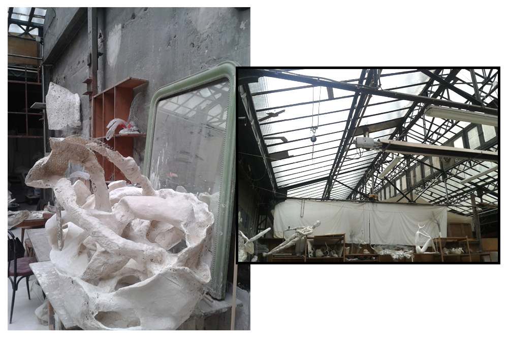 Atelier des Sardines, 14 passage Lhomme, 75011 Paris