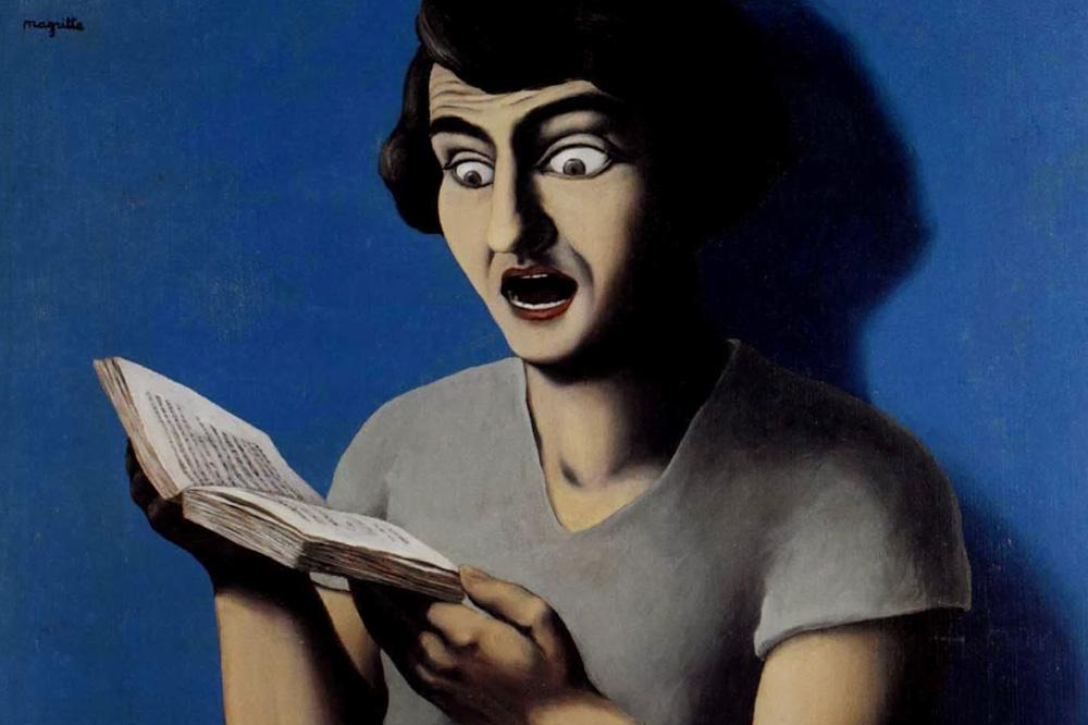 """""""la lectrice soumise"""" René Magritte"""