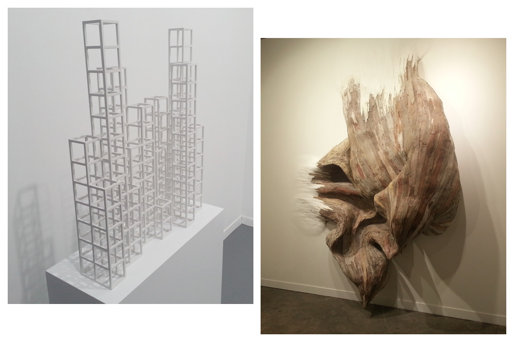 """small structures #5"" Sol LeWitt - ""Untitled"" de Henrique Oliviera"