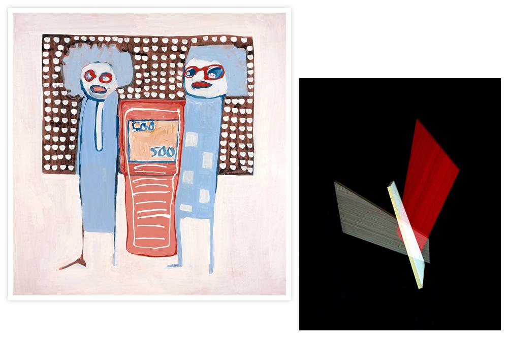 Galerie André Magnin : Amadou Sanogo - Galerie Bendana-Pinel : Alejandra Laviada