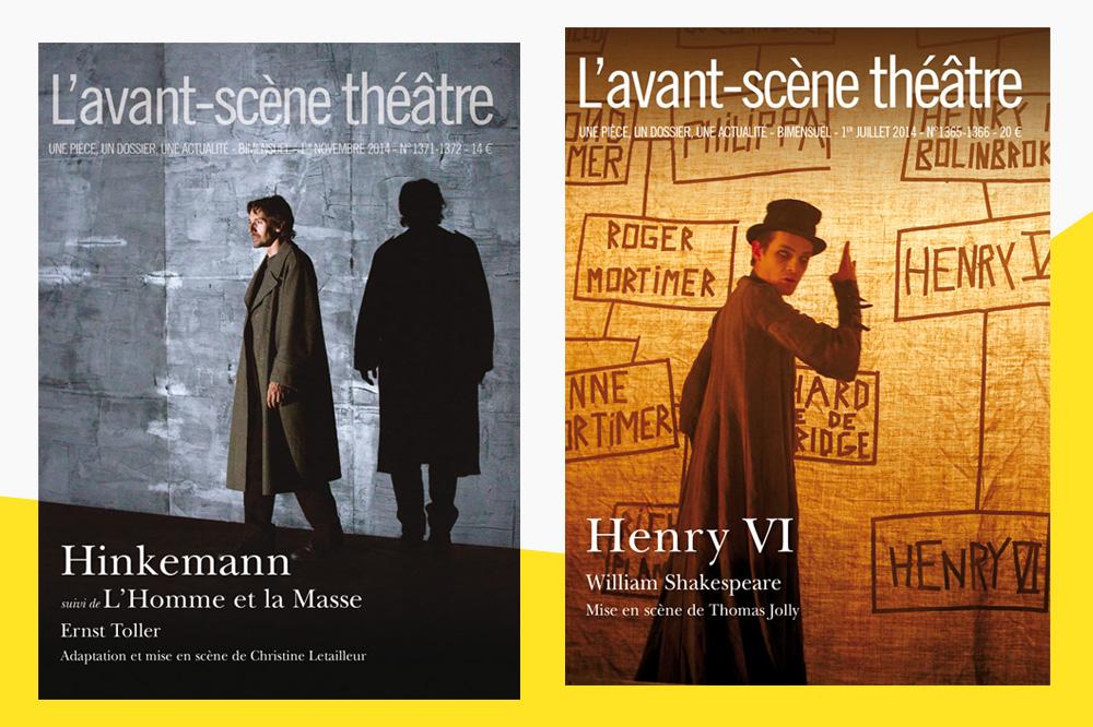 "L'avant scène théâtre ""Hinkemann"" - ""Henry VI"""