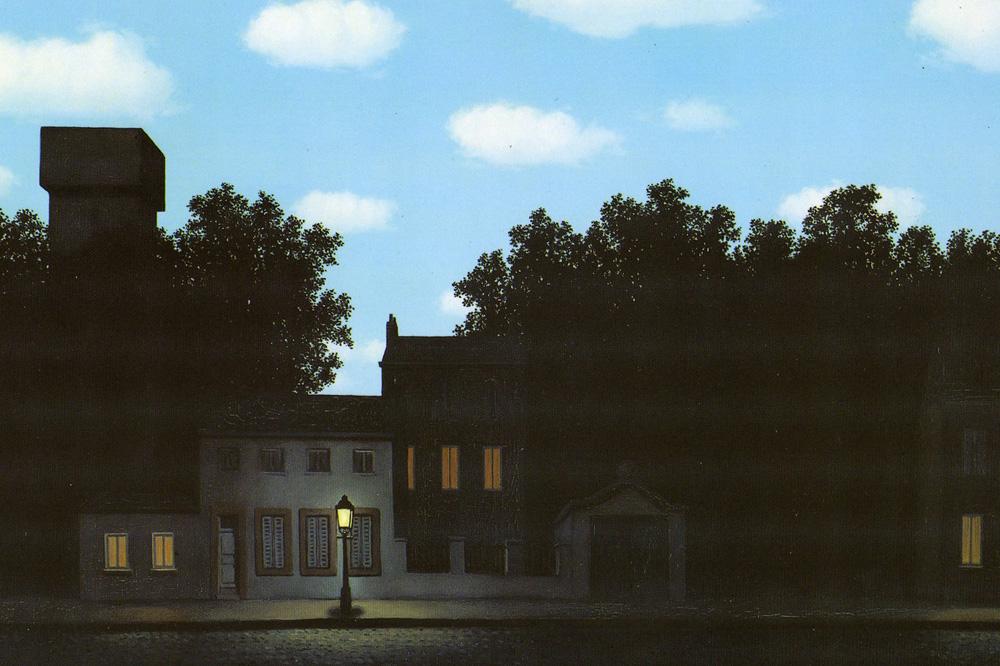 """""""L'Empire des Lumières"""" de René Magritte"""