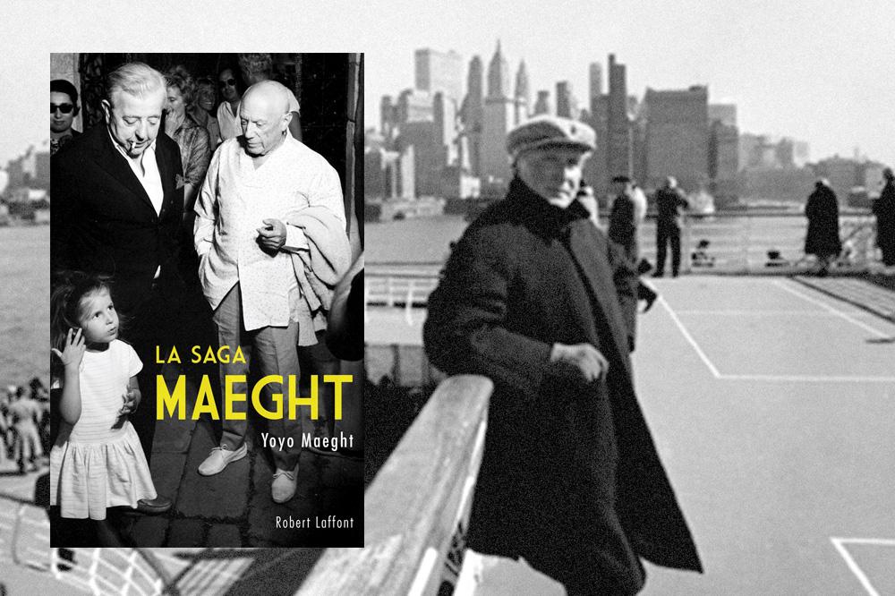 « La Saga Maeght » de Yoyo Maeght, éditions Robert Laffont