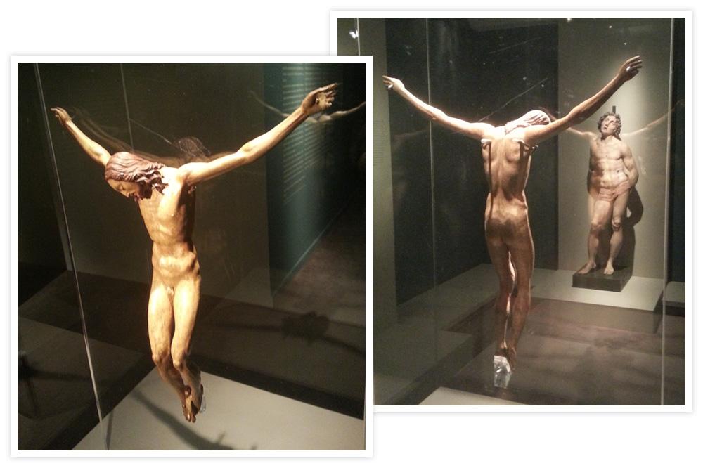 """""""Christ crucifié"""" attribué à Michel-Ange"""