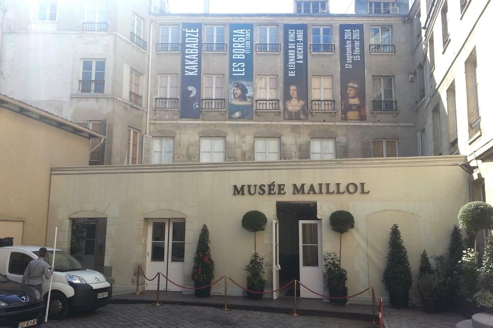 Les Borgia et leur temps » Musée Maillol, 59/61 rue de Grenelle, 75007 Paris