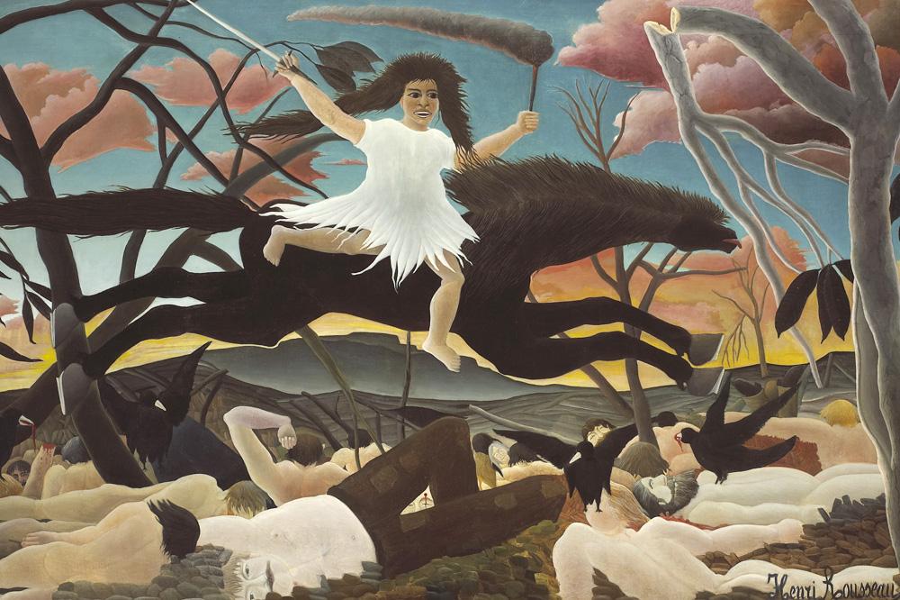 """""""La guerre"""" du Douanier Rousseau"""