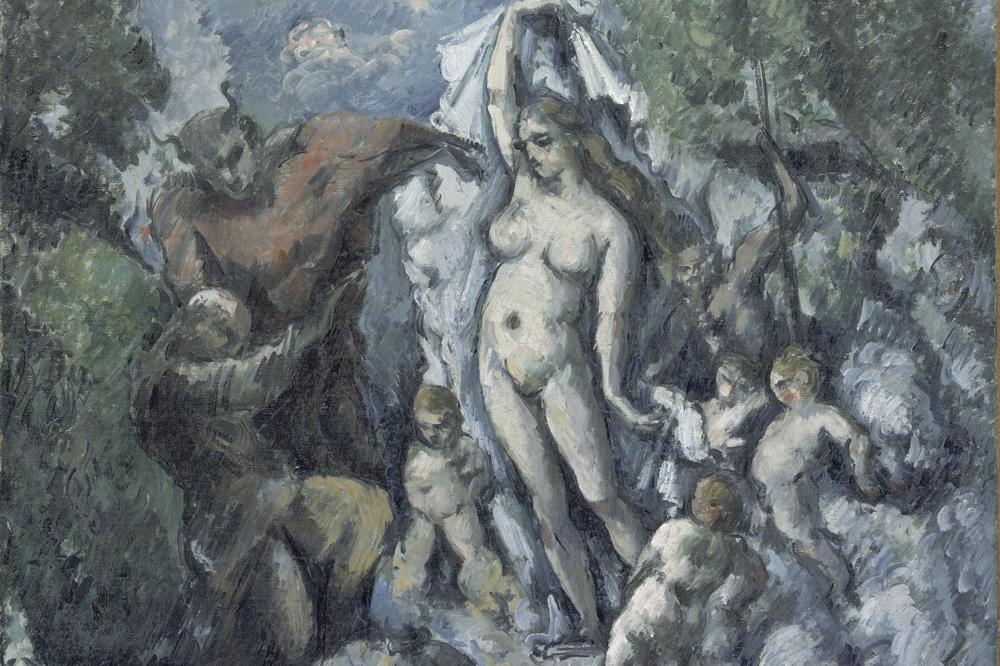 """La tentation de saint Antoine"""" de Paul Cézanne"""