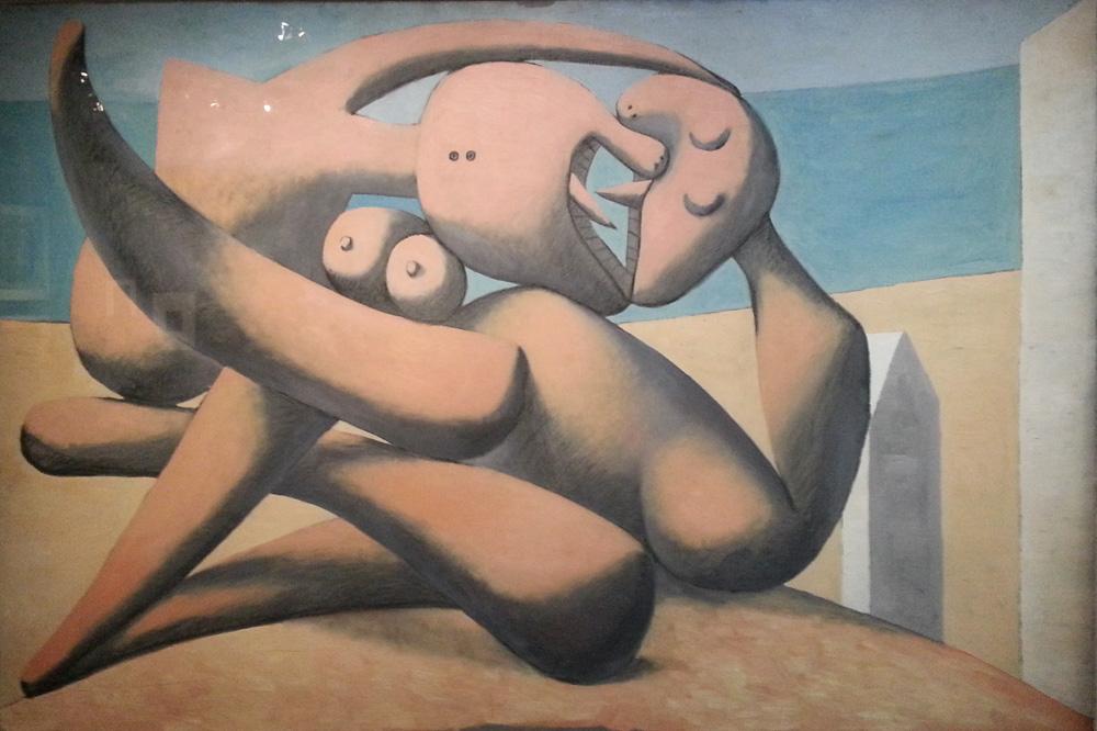 """""""Figures au bord de la mer"""" de pablo Picasso"""