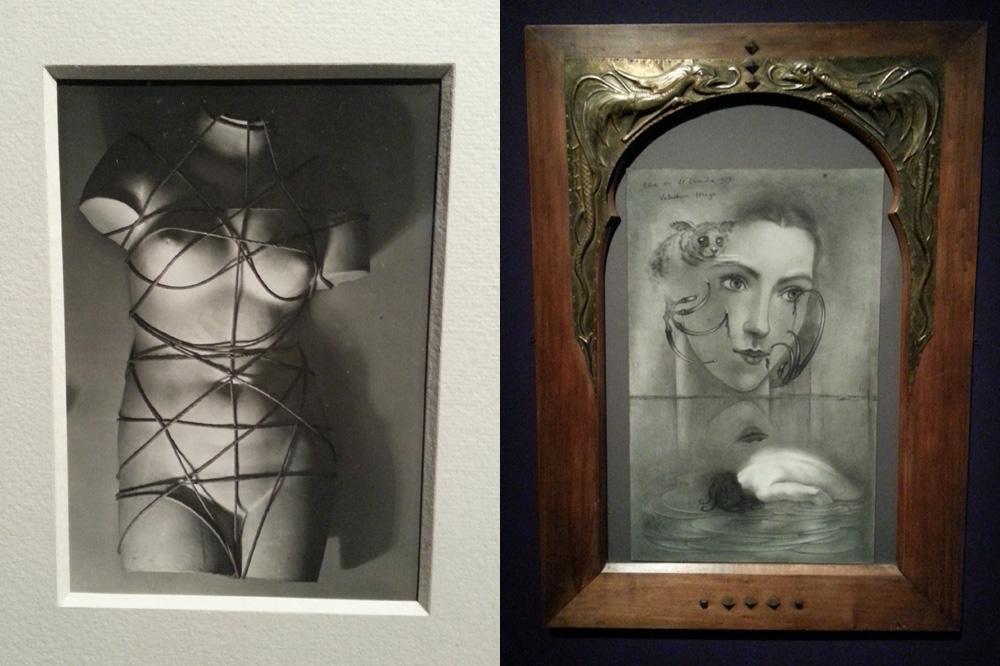 """""""Torse"""" de Man Ray - """"Rêve du 21 décembre 1929"""" de Valentine Hugo"""