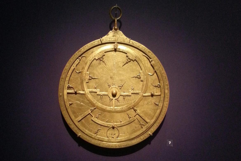 Astrolabe planisphérique - 1217 - 1218 - Fés - Mosquée des Andalous